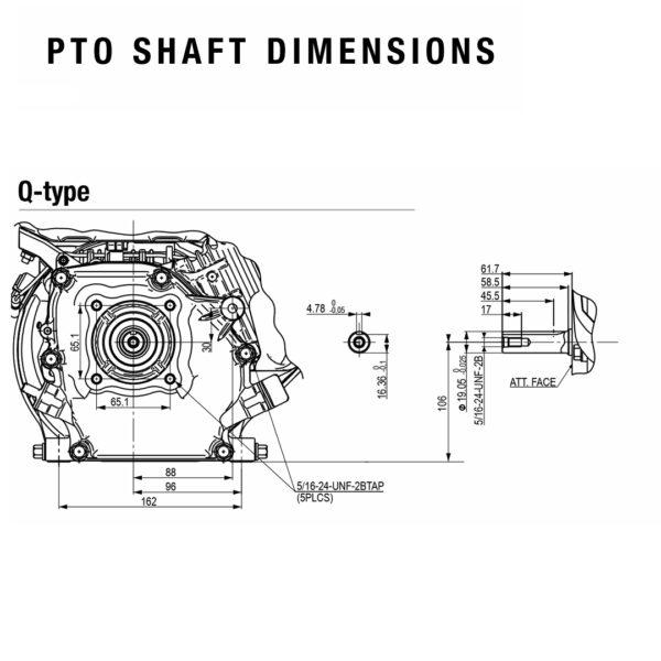 PTO-Shaft-dimensions